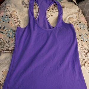 Lululemon Cool racerback tank in purple
